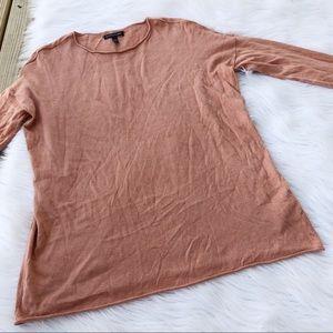 Eileen Fisher Salmon Long Sleeve Sweater